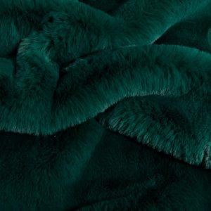 Faux fur by the metre Super soft faux fur fabric imitating rabbit, alpine green – 3091 Alpine Green