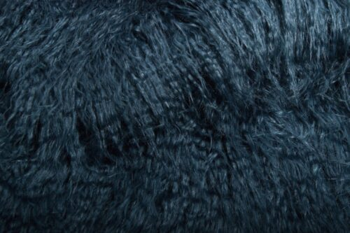 Faux fur by the metre Blue Mongolian Fake Fur Fabric – 1591 Blue