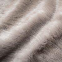 Faux fur by the metre Smoke Grey Fox Faux Fur Fabric By The Metre – 1611 Smoke Grey