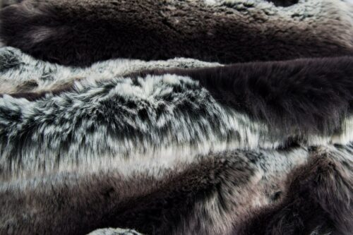 Faux fur by the metre Grey Chinchilla Faux Fur Fabric By The Metre – 7576 Grey Chinchilla