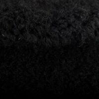 Faux fur by the metre Plush Teddy Black Faux Fur Fabric By The Metre – 7579 Black