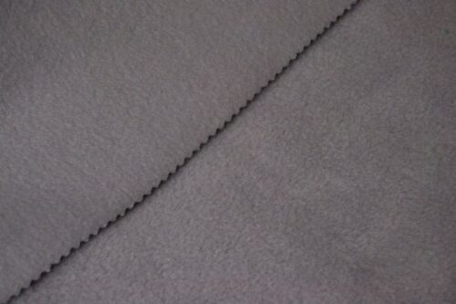 Fleece fabric Grey Lambskin Fleece by the metre, Anti-Pilling – Grey