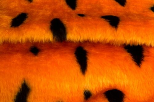 Budget faux fur Flintstones faux fur fabric by the meter for disguise, costumes, cosplay – R2/60/2 FG 633/1 Flintstones 999/1