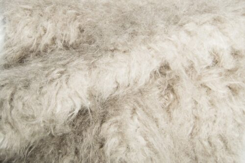 Faux fur by the metre Light Grey Sheep Faux Fur Fabric By The Metre – 4046 Lt.Grey/D.Grey sub