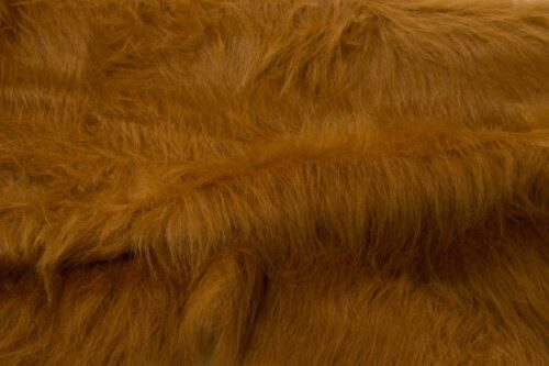 Budget faux fur Low Price Chesnut Brown Longhaired Faux Fur – AC356-Chestnut