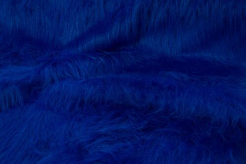 Budget faux fur Low Price Cobalt Blue Longhaired Faux Fur – AC356-Cobalt