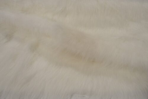 Budget faux fur Low Price Ecru Longhaired Faux Fur – AC356-Ecru