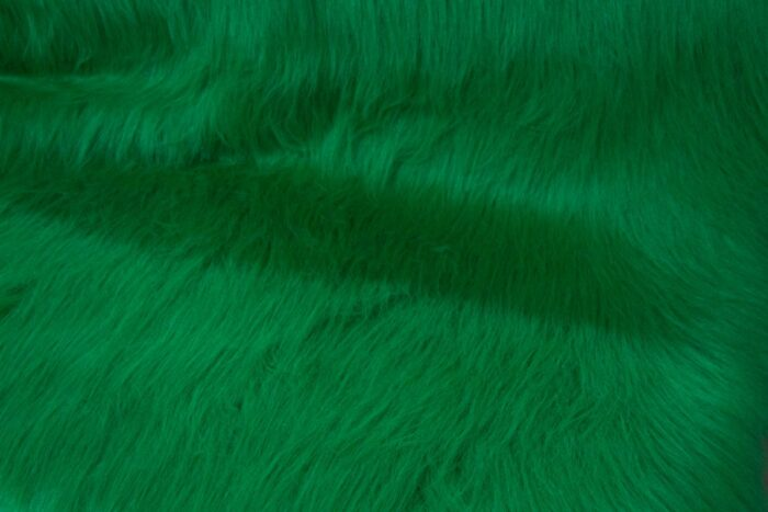 Budget faux fur Low Price Emerald Green Longhaired Faux Fur – AC356-Emerald
