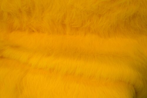 Budget faux fur Low Price Gold Yellow Longhaired Faux Fur – AC356-M-Gold