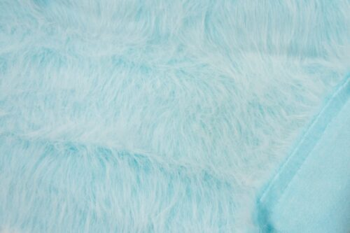Budget faux fur Low Price Peacock Blue Frost Longhaired Faux Fur – AC356-Peacock Frost