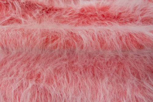 Faux fur by the metre Low Price Red Frost Longhaired Faux Fur – AC356-Red Frost
