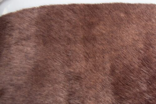 Faux fur by the metre Brown Mink Faux fur fabric by the metre – 1649 Brown