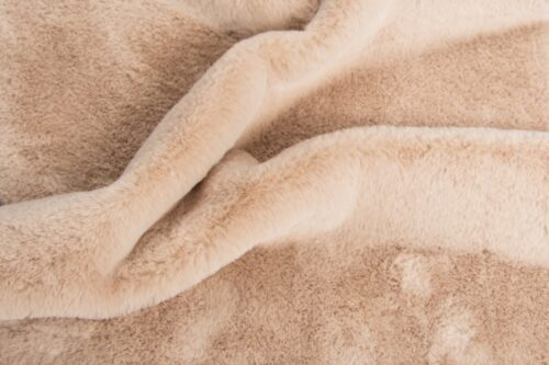 Faux fur by the metre Super soft light beige faux fur fabric by the metre for lining – 2R338 Pale Beige