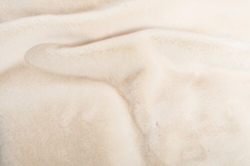 Faux fur by the metre Cream Otter Faux Fur Fabric By The Metre – 6021 Loutre Cream