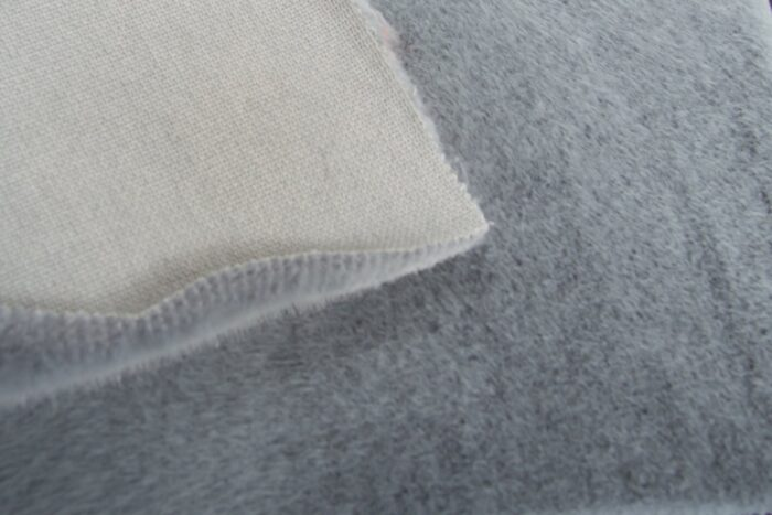 Faux fur by the metre Shorthaired Light Blue/Grey Faux Fur Fabric By The Metre – 6026 Light Blue/Grey