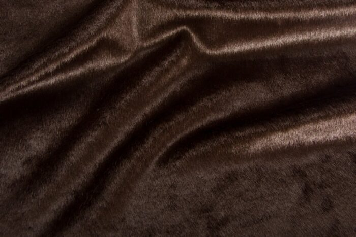 Faux fur by the metre Shorthaired Brown Faux Fur Fabric By The Metre – 6029 Brown
