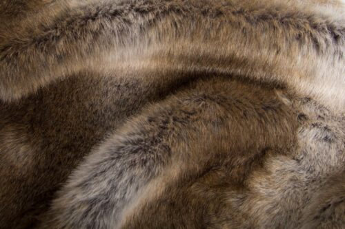 Faux fur by the metre Grey Chinchilla Faux Fur Fabric By The Metre – 6042 Grey