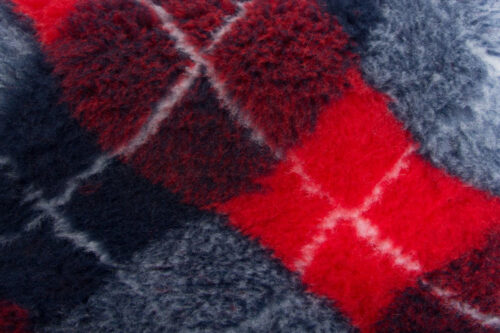 Faux fur by the metre Grey faux fur fabric by the metre for cats and dogs beddings – YF 317 1494/3