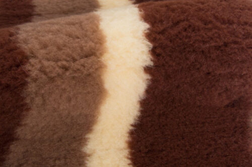Faux fur by the metre Brown faux fur fabric by the metre for cats and dogs beddings – YF 317 712/2