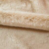 Faux fur by the metre Beige Imitation Mink/Rabbit Faux Fur Fabric By The Metre – 6003 Beige