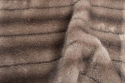 Faux fur by the metre Light Grey Textured Mink Faux Fur Fabric By The Metre – 6004 Light Grey