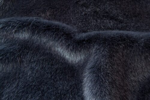 Faux fur by the metre Shorthaired Petrol Blue Faux Fur Fabric By The Metre – 6026 Storm