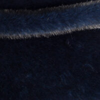 Faux fur by the metre Shorthaired Blue/black Faux Fur Fabric By The Metre – 6026 Blue/Black