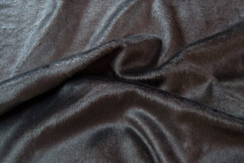 Faux fur by the metre Shorthaired Dark Grey Faux Fur Fabric By The Metre – 6029 Dark Grey