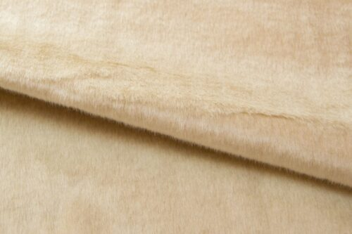Faux fur by the metre Shorthaired Ivory White Faux Fur Fabric By The Metre – 6029 Ivory