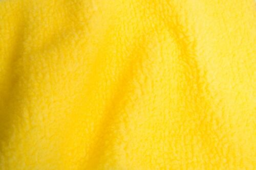 Budget faux fur Faux fur fabric sheepskin style for lining, yellow – K7/SF-yellow 5937