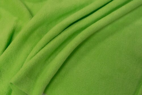 Fleece fabric Kiwi green Lambskin Fleece by the metre, Anti-Pilling – Kiwi