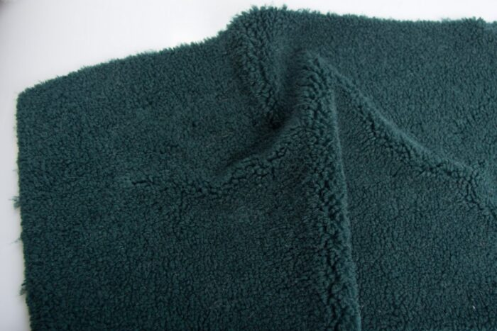 Faux fur by the metre Dark Green Teddy Faux fur fabric by the metre  – 2RK350 Green