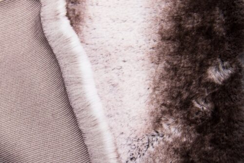 Faux fur by the metre Super soft faux fur fabric chinchilla/rabbit silver grey fabric – 3106 Silver Bear
