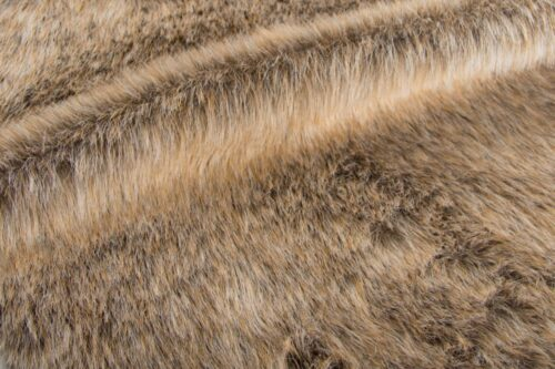 Faux fur by the metre Grey/Brown imitation fox faux fur fabric by the metre – 1457 Beige