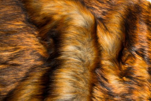Faux fur by the metre Brown imitation fox faux fur fabric by the metre – 1576 Reynard fox