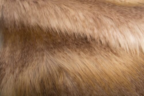 Faux fur by the metre Beige imitation fox faux fur fabric by the metre – 3006 Beige