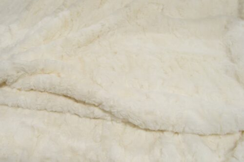 Faux fur by the metre Medium pile faux fur fabric by the meter, limited edition, Rabbit, White