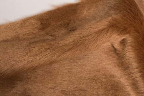 Budget faux fur Brown Faux fur Fabric by the meter super value for money –  YF 286/1 Beige 0906
