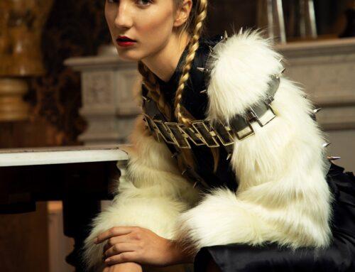 Sarah Berdalle's fur creations