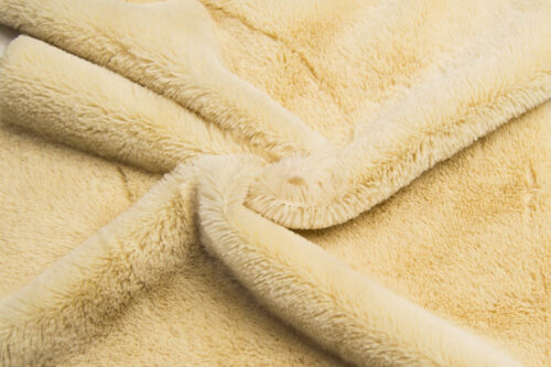 Budget faux fur Low price short pile toffee faux fur fabric – W2/60 Toffee