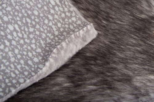 Faux fur by the metre Silver Grey Fox Faux Fur Fabric By The Metre – 1653 Norge Silverfox