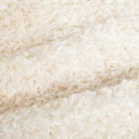 Faux fur by the metre Imitation Sheep/Teddy Faux Fur Fabric By The Metre, Cream – 6016 Cream