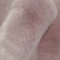 Faux fur by the metre Lilac Imitation Mink/Rabbit Faux Fur Fabric By The Metre – 6003 Lilac