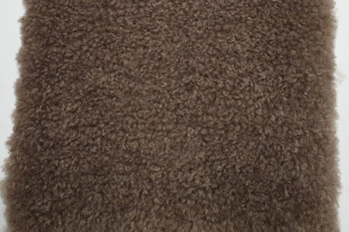 Faux fur by the metre Taupe teddy faux fur fabric by the metre – 2R374 Taupe